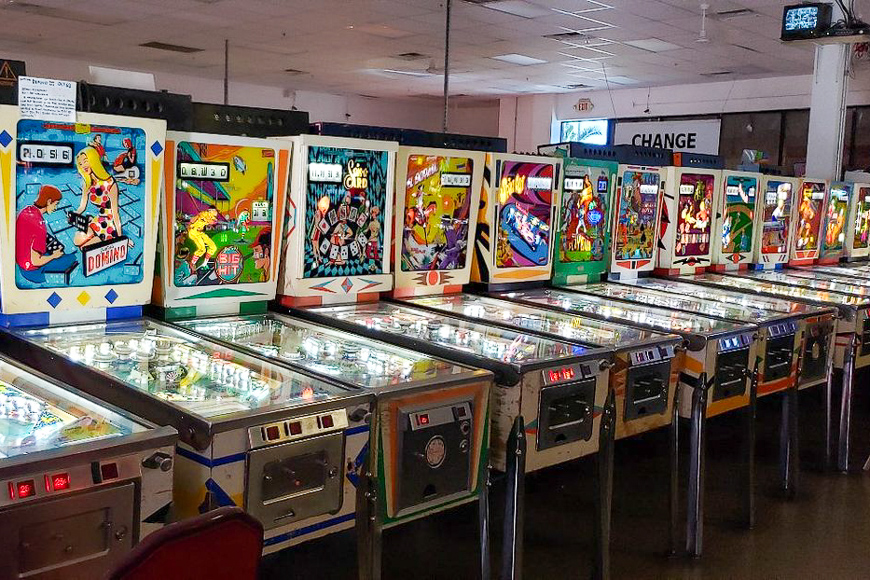 Pinball Hall of Fame ; Courtesy of skstelte