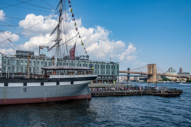 Transport Kids Back in Time at Seaport District and at the South Street Seaport Museum ;Courtesy of NYC & Company