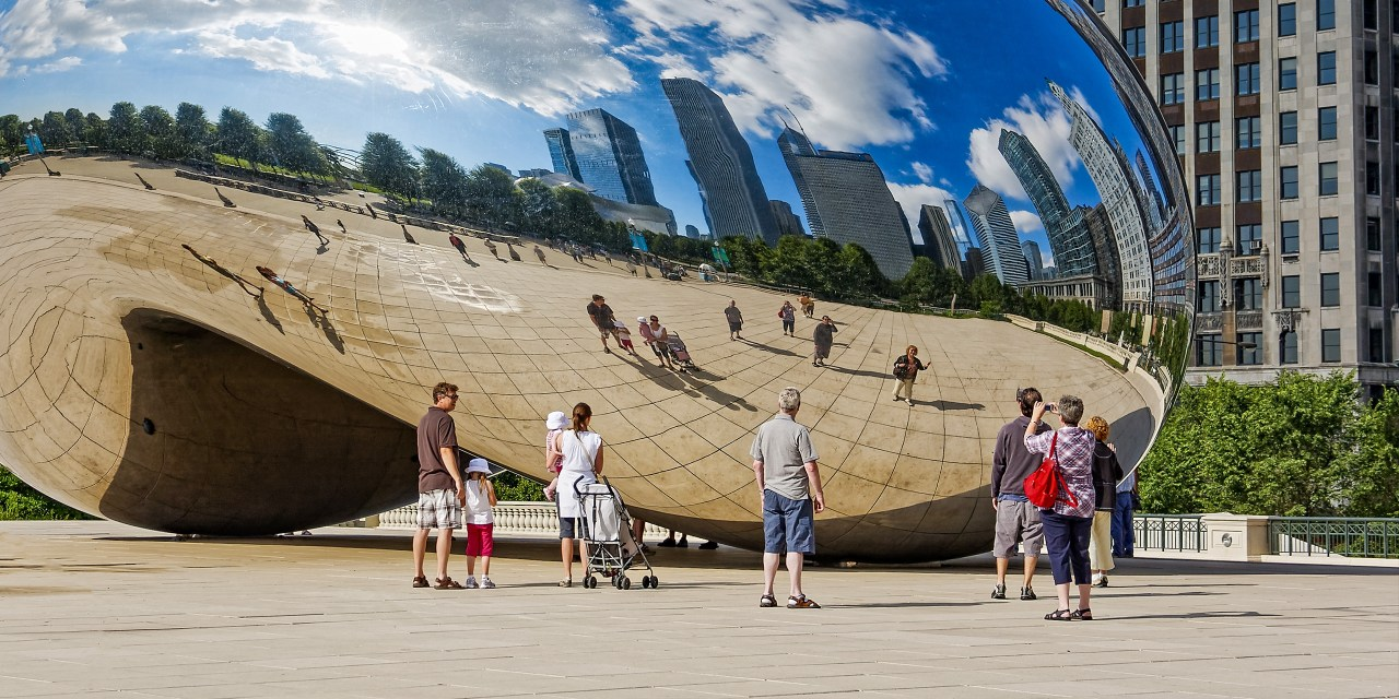 chicago bean tourists; Courtesy of Steve Bramall/Shutterstock