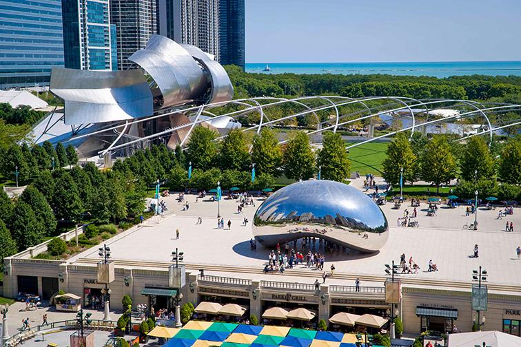 Explore an Urban Oasis at Millennium Park;Courtesy of Choose Chicago