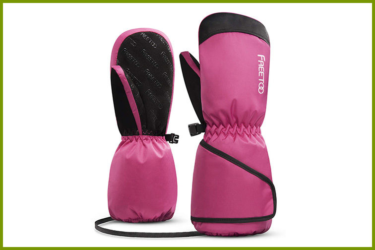 FREETOO Kids' Ski mittens; Courtesy of Amazon
