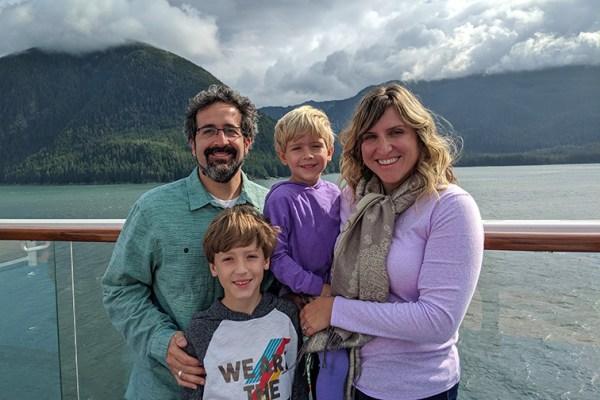 cynthia drake family in alaska; Courtesy of Cynthia Drake