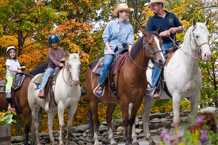 Experience Life on a Ranch; Courtesy of Rocking Horse Ranch