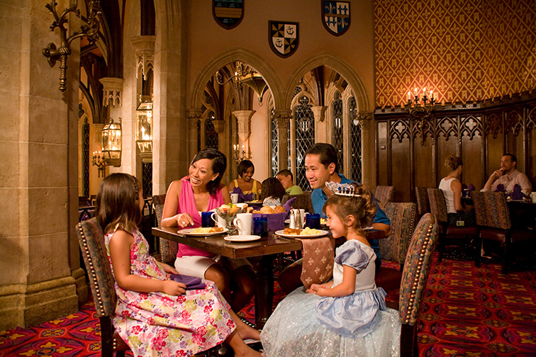 Cinderella's Royal Table - Disney'sMagic Kingdom; Courtesy of Disney