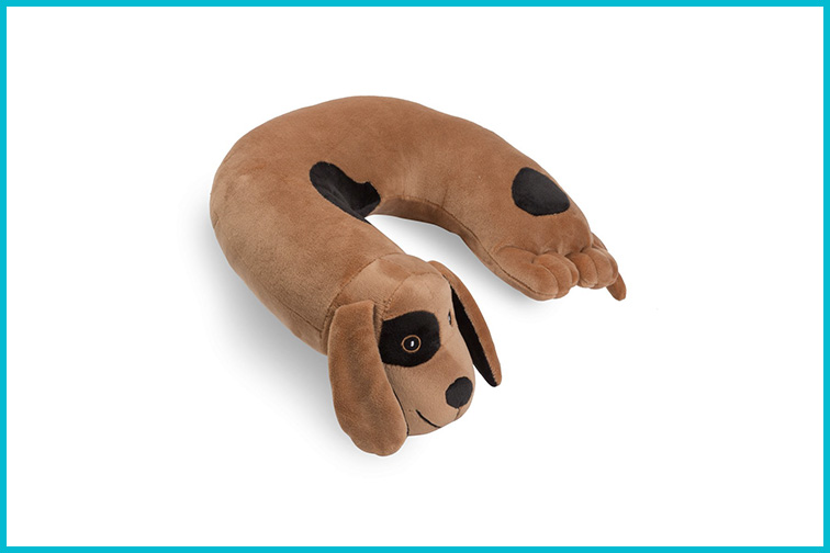Critter Piller Kid's Travel Buddy and Comfort Pillow; Courtesy of Amazon
