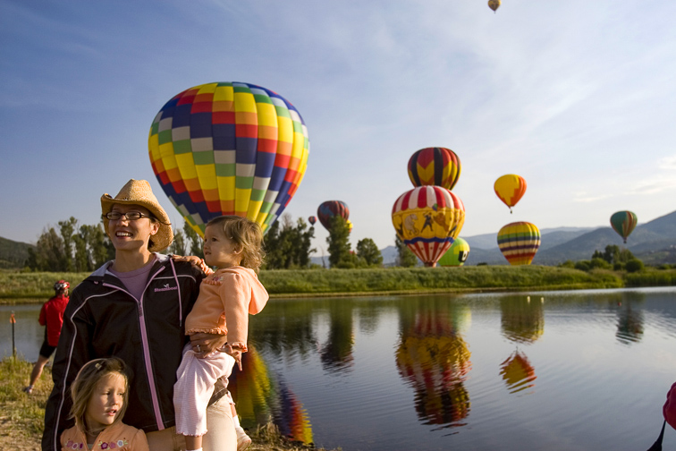Steamboat Springs; Courtesy Colorado Tourism Office