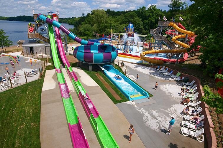 Splash Away Bay, Quassy Amusement Park – Middlebury, CT; Courtesy of Splash Away Bay, Quassy Amusement Park