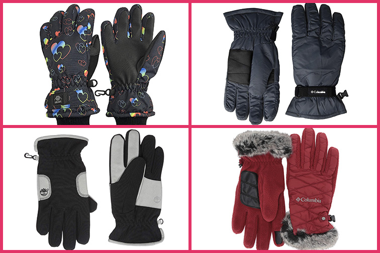 Winter Packing List for Europe:Gloves; Courtesy of Amazon