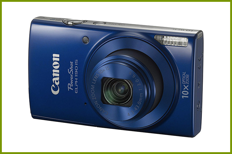 Canon PowerShot ELPH 190 Digital Camera; Courtesy Amazon