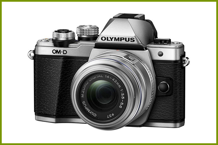 Olympus Mirrorless Camera  E-M10 Mark II; Courtesy Amazon