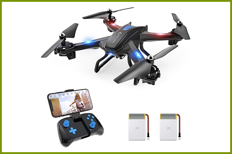 SNAPTAIN S5C Wi-Fi FPV Drone with 720p HD Camera; Courtesy Amazon