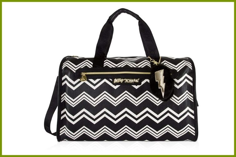 Betsey Johnson Quilted Carry-on weekender