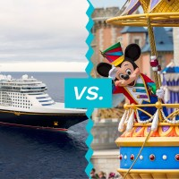 Disney Cruise vs. Disney; Courtesy of Disney