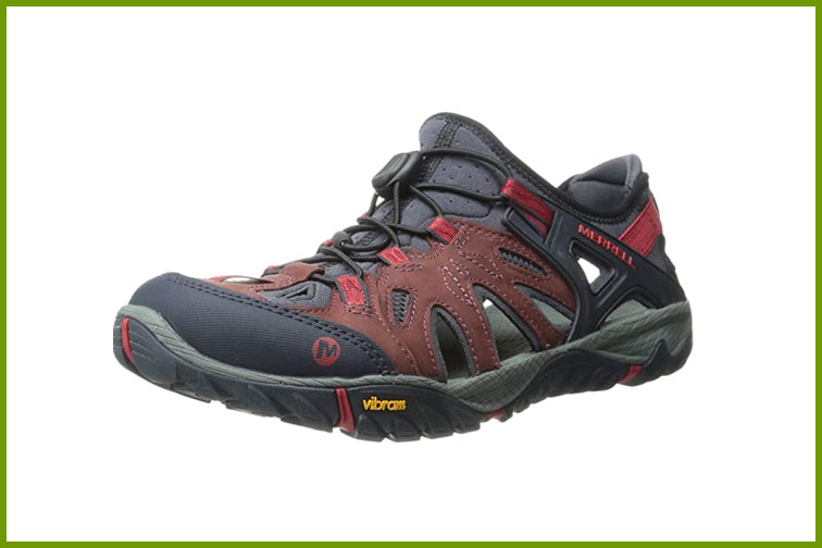 Merrell All Out Blaze Sieve Water Shoe; Courtesy of Amazon