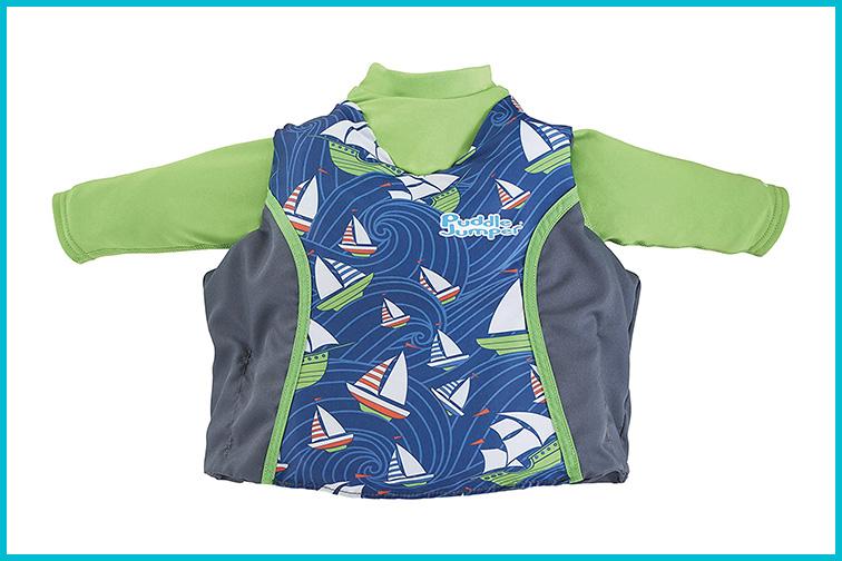 Puddle Jumper Kids 2-in-1 Life Jacket and Rash Guard; Courtesy Amazon