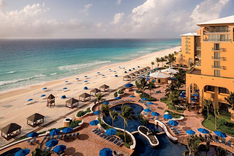 The Ritz-Carlton, Cancun; Courtesy of The Ritz-Carlton, Cancun