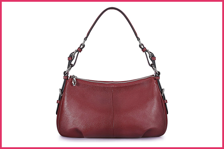 S-ZONE Women's Hobo Genuine Leather Shoulder Bag; Courtesy Amazon
