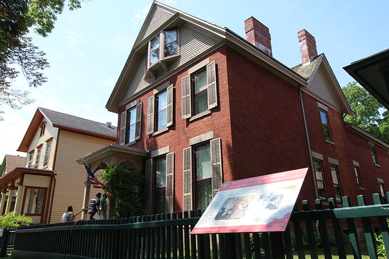 Susan B. Anthony House and Museum in Rochester, NY