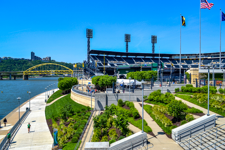 PNC Park – Pittsburgh, PA; Courtesy jessica.kirsh/Shutterstock