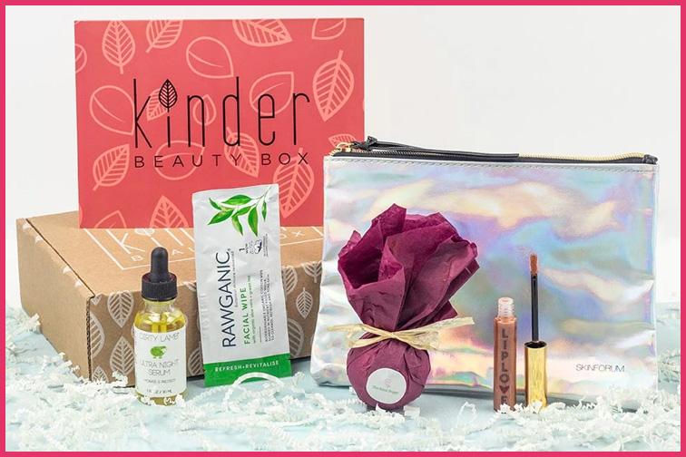 Kinder Beauty Box; Courtesy Kinder Beauty Box
