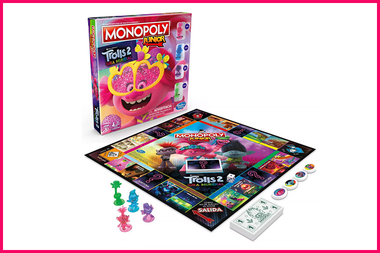 Monopoly Junior Game: DreamWorks Trolls World Tour Edition; Courtesy Target