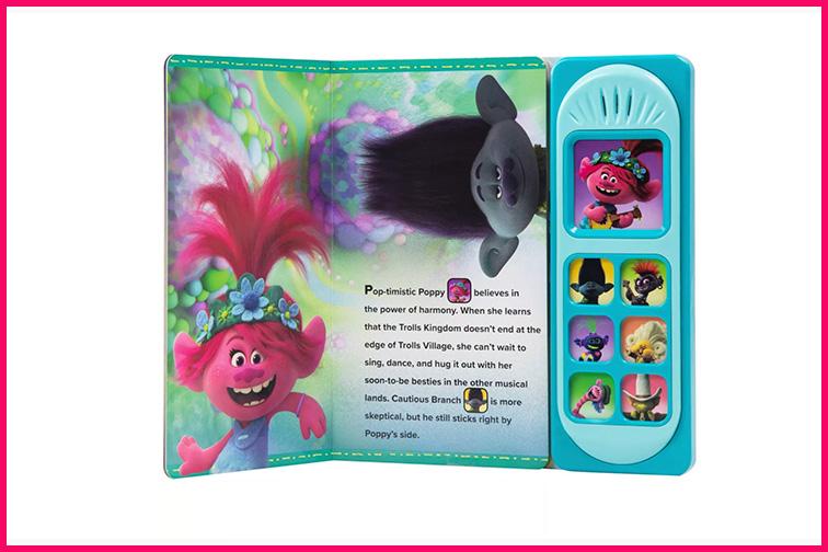 Trolls 2 Little Sound Book; Courtesy Target