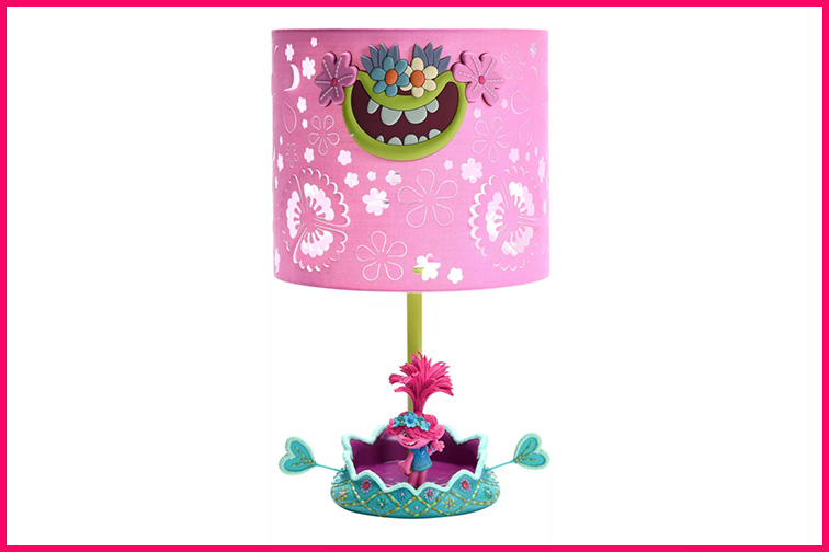 Trolls World Tour Poppy Hot Air Balloon Novelty Table Lamp; Courtesy Target