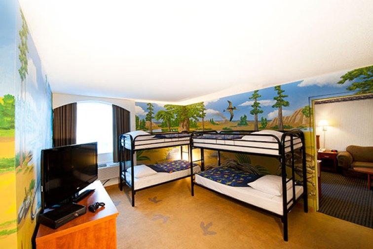 Dino Room at Victoria Inn Hotel; Courtesy of The Victoria Inn Hotel