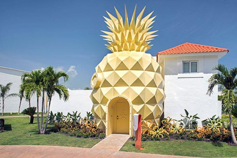 Pineapple Suite at Nickelodeon Resort; Courtesy of Nickelodeon Hotels & Resorts Punta Cana