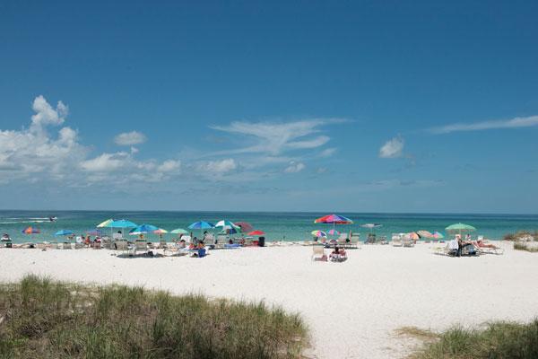 Manatee County Beach in Holmes Beach, Fla.