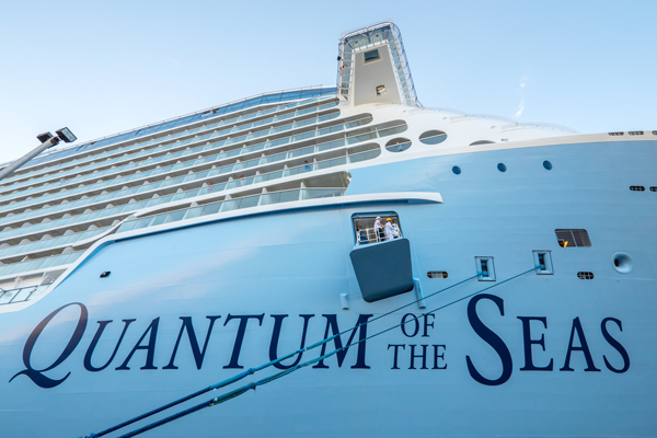 Quantum of the Seas cruise ship.