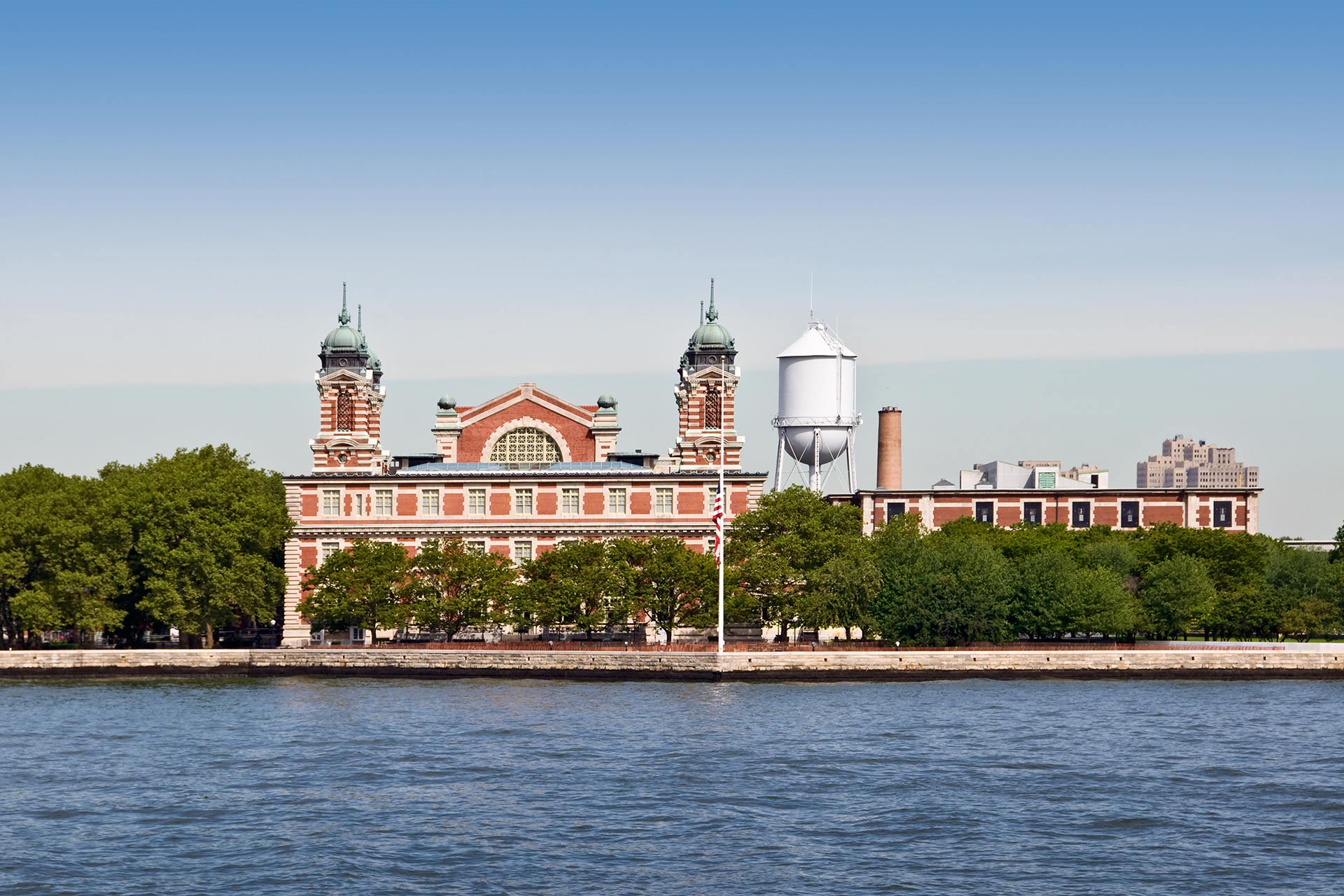 The American Family Immigration History Center on Ellis Island.