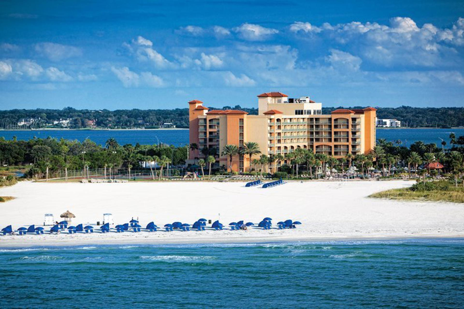 Sheraton Sand Key Resort in Clearwater, Florida.