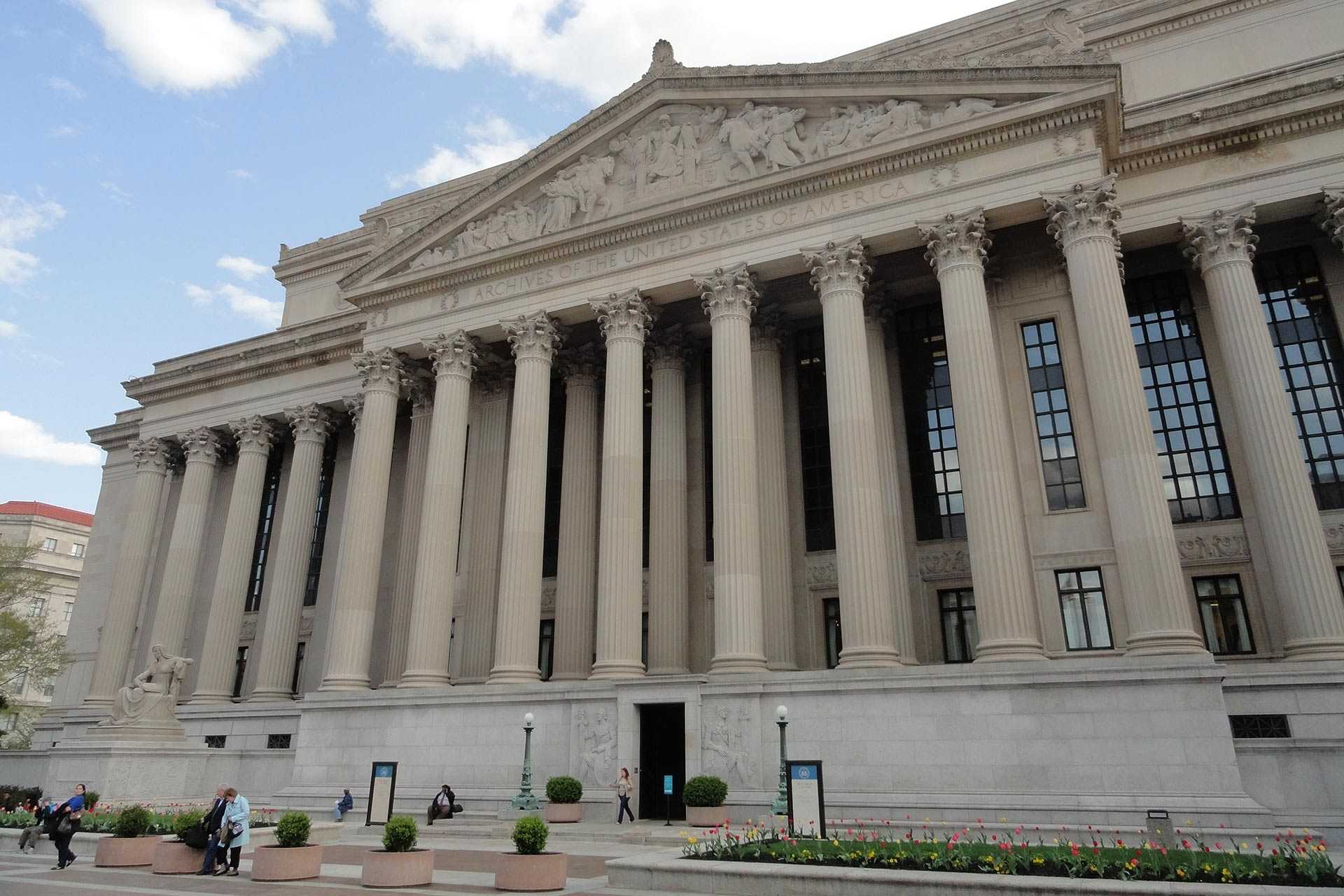 The National Archives Museum in Washington D.C.