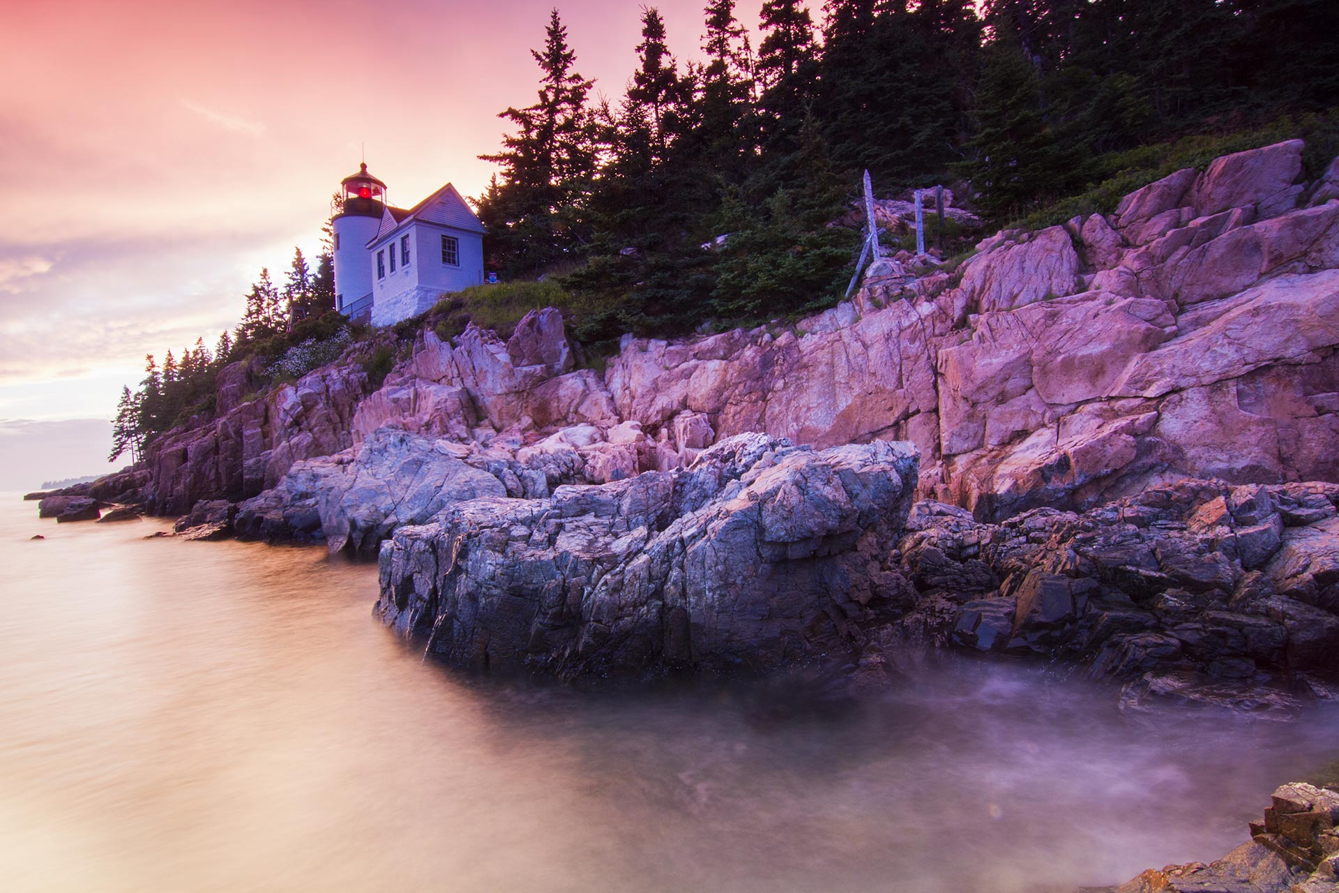 Acadia National Park in Maine, USA.