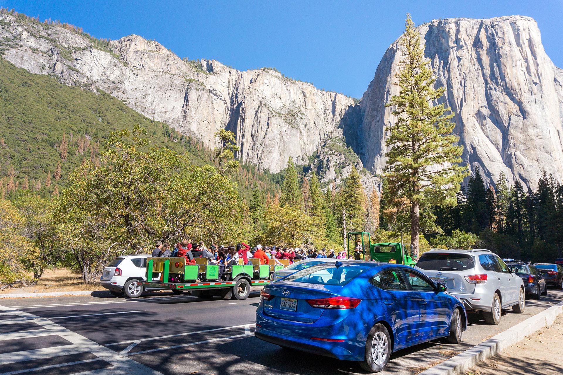 Yosemite National Park Crowds