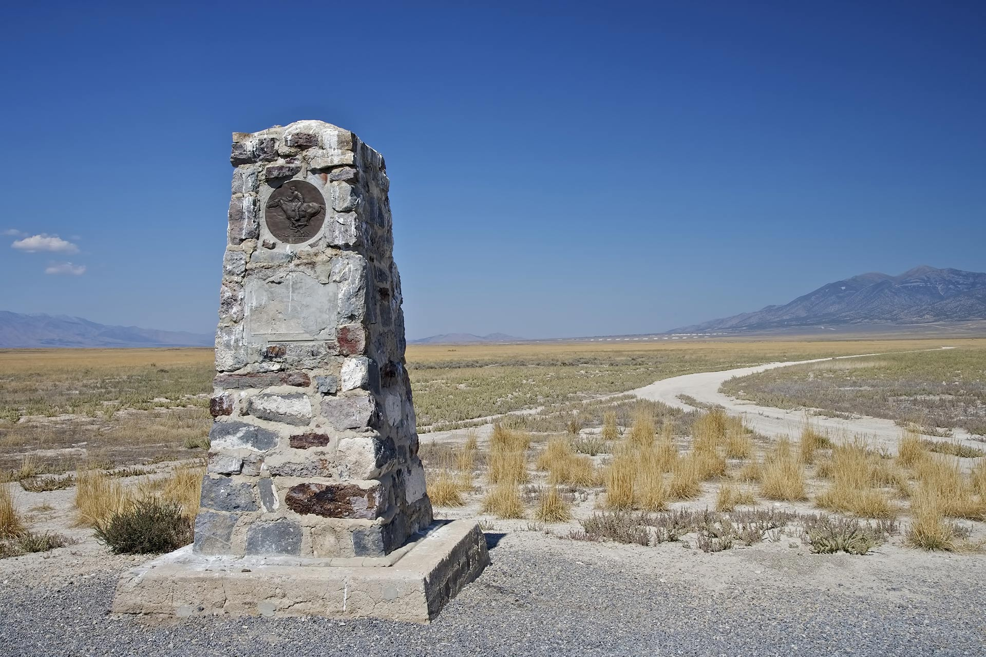 Part of the Pony Express trail.