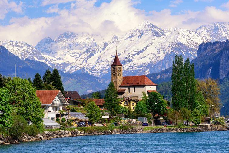 Lake Brienz by Interlaken, Switzerland