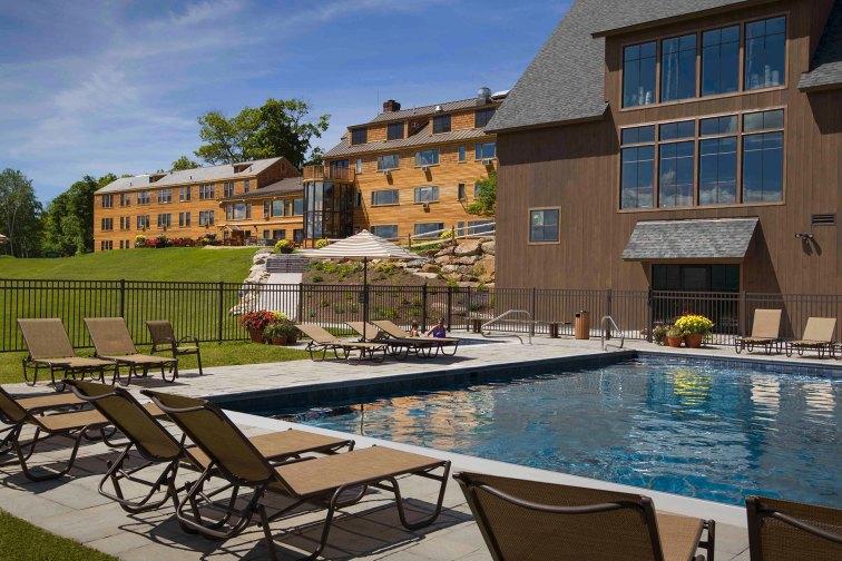 Pool at Mountain Top Inn