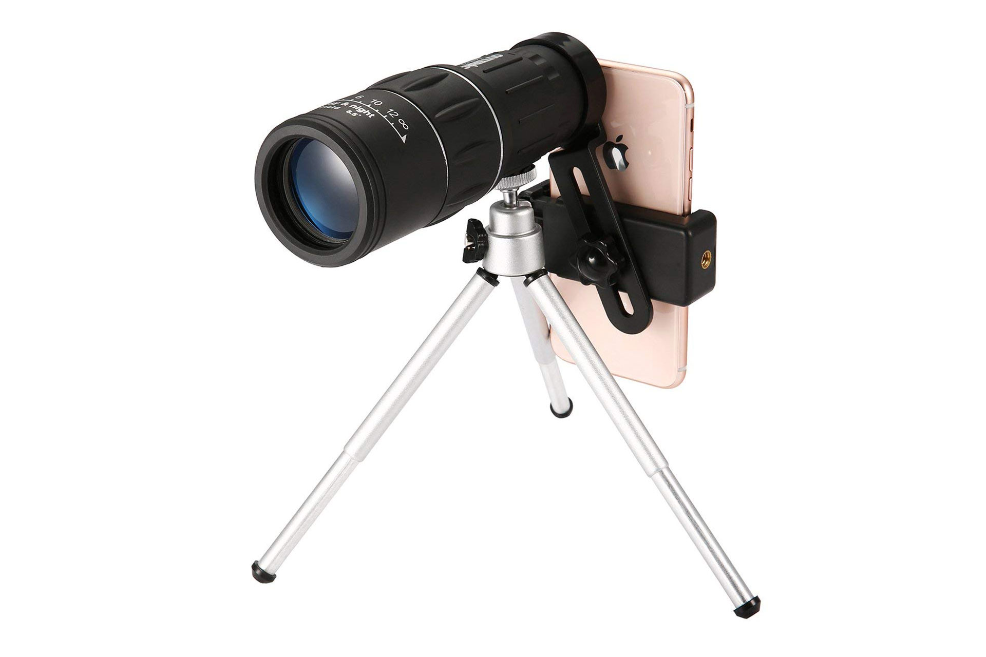 Monocular Telescope with Phone Adapter