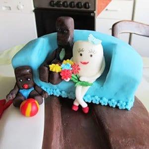 Riesen KinderRiegel Torte  Faminino
