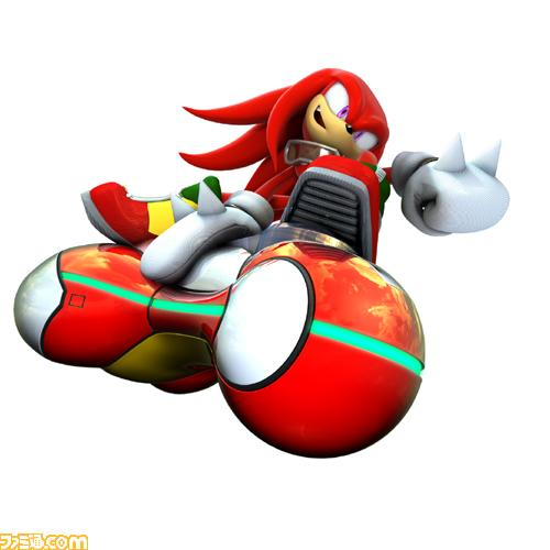 Sonic Riders style