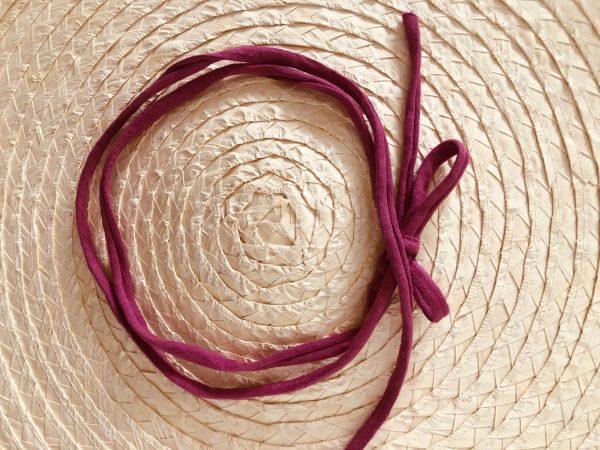 Smal haarbandje (dubbel): roze