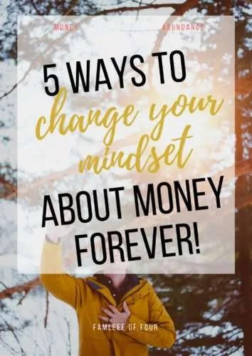 Making money is a lot easier when you know how to create a money mindset. Click through to get the secrets of creating a money mindset. #moneymindset #changethoughtsaboutmoney