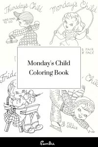 Monday's Child Poem: Your Child's Personality by Day of