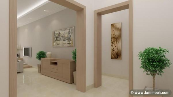 Immobilier Tunisie  Vente Appartement La Soukra  Tres bel appartement de haut standing neuf 2