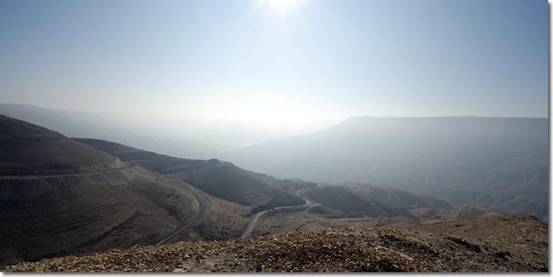 strade in Giordania