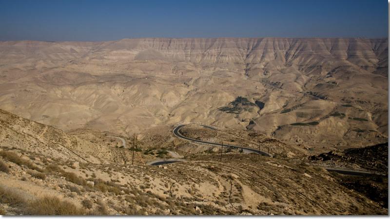 guidare in Giordania