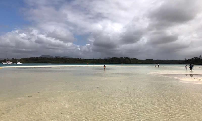 Ile aux cerfs spiaggia
