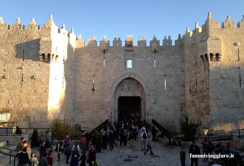 Gerusalemme porta di Damasco